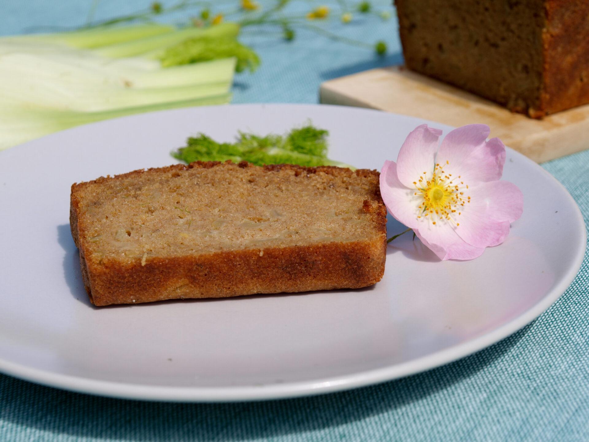 süsser Fenchel-Cake aus Dinkelvollkornmehl (Foto: Sarah, 2021)