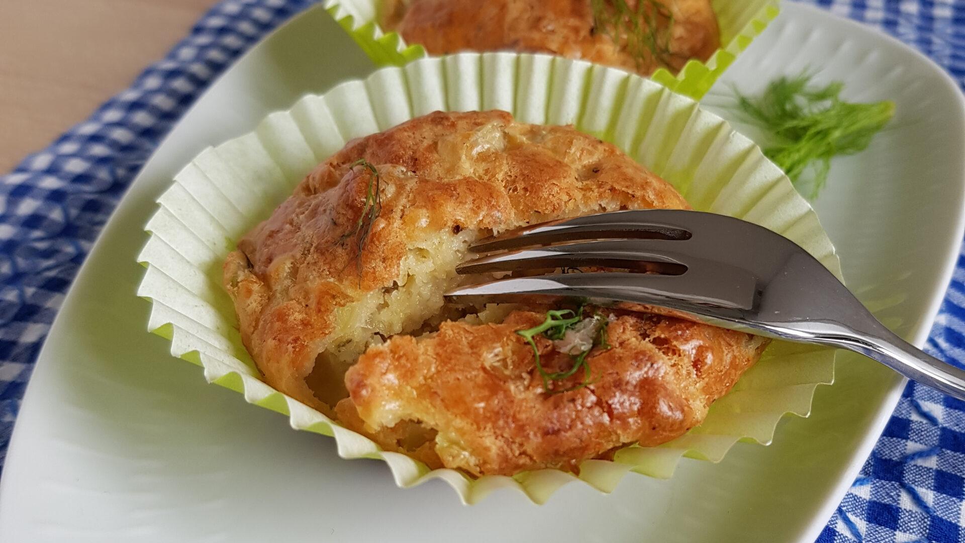 Apéro-Muffins mit Fenchel und Räucherlachs (Foto: Sarah, 2020)