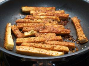 Gebatener Tofu (Foto: Sarah, 2021)